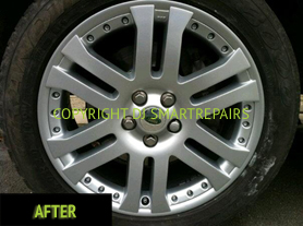 Alloy Wheel Repair After
